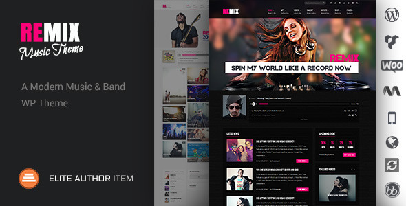 Music Band Club Party Event WP Theme