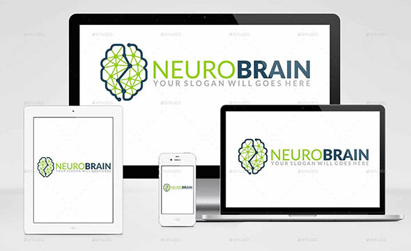 Neuro Brain Logo