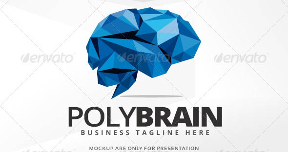 Poly Brain Logo