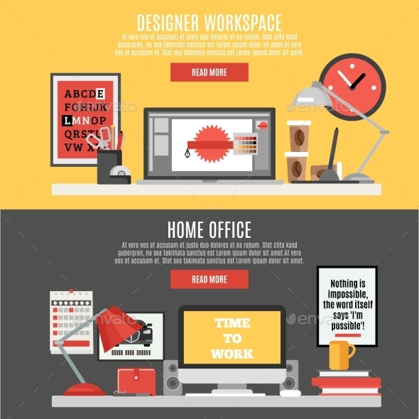 Workspace Banner Set
