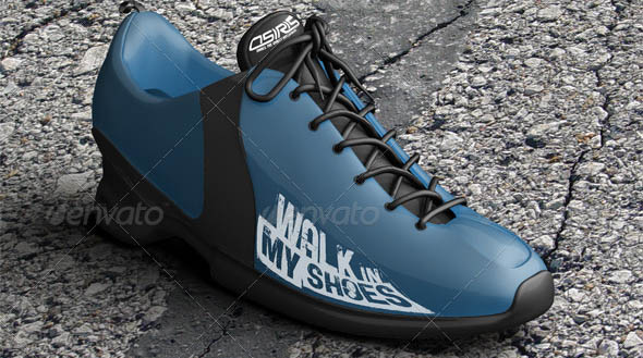 6 Realistic Sneakers Mock-Ups Vol1