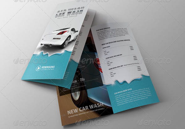 Car Wash Bifold Brochure 02