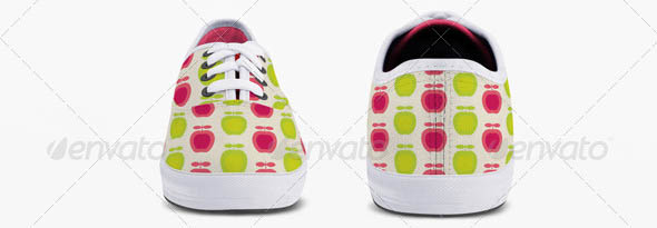 Classic Sneakers Shoes Mock-up