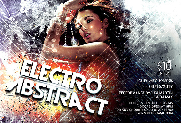 Electro Abstract