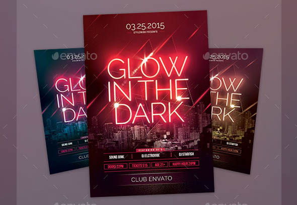 Glow In The Dark Flyer