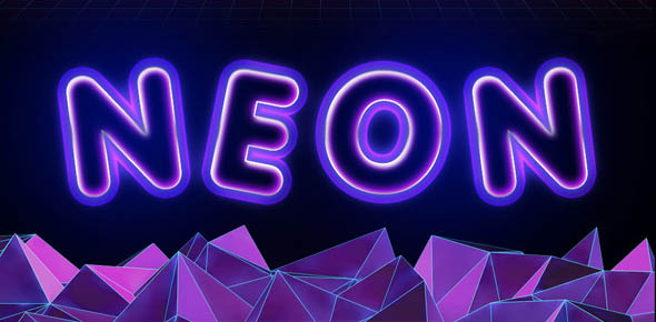 Premium Glowing Text Effect