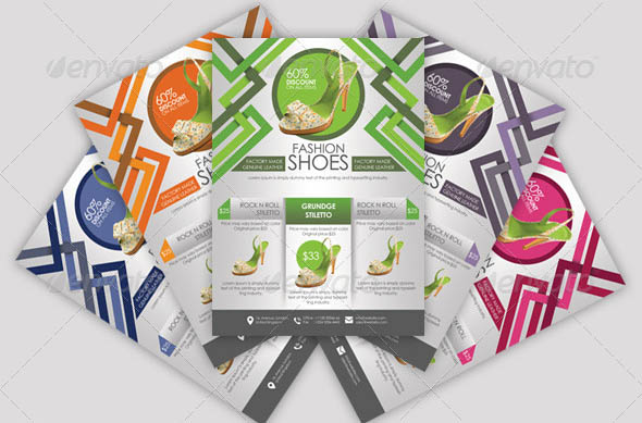 Shoe Sales Flyers