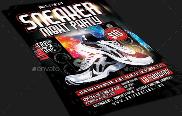 Sneaker Night Party