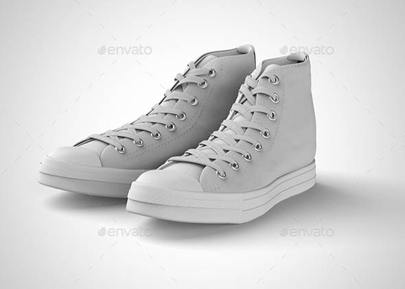 Sneakers Shoes Mock-up