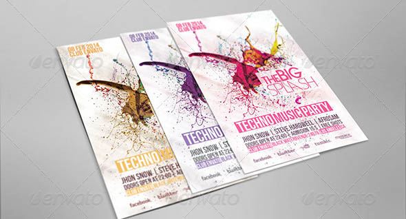 Splash Party Flyer Template