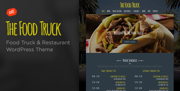 The Food Truck WordPress Theme