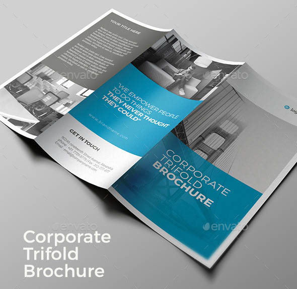 Trifold Brochure 2 in 1