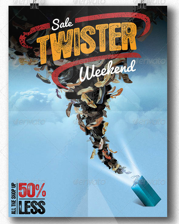 Twister Sale Flyer