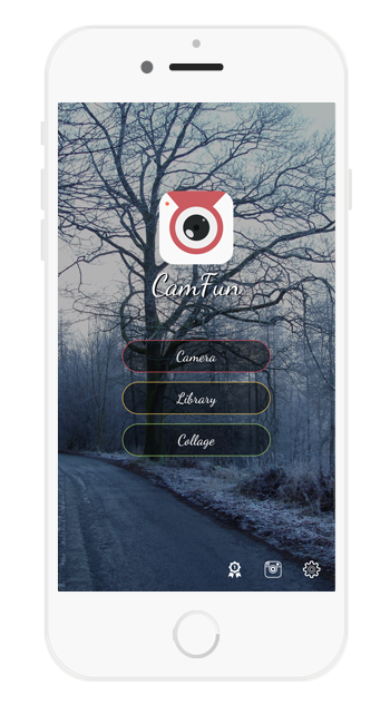 iOS Universal Social Photo App Template