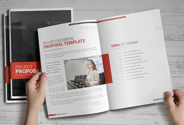 18 nice project proposal indesign templates desiznworld business proposal indesign template v4 cheaphphosting Images