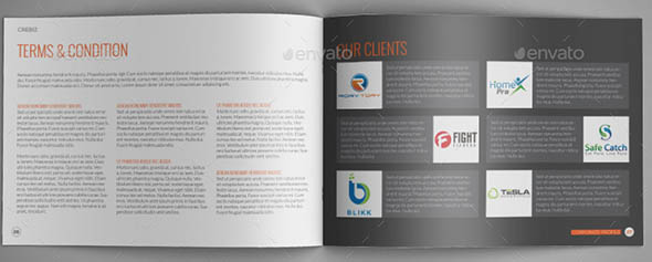 Corporate Proposal A4 Indesign Template
