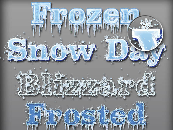 Frozen Graphic Styles