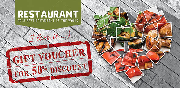 Gift Voucher in the Restaurant