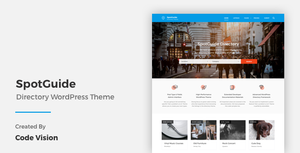 High Performance Directory WordPress Theme