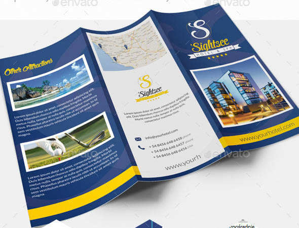 Hotel DL Trifold Brochure