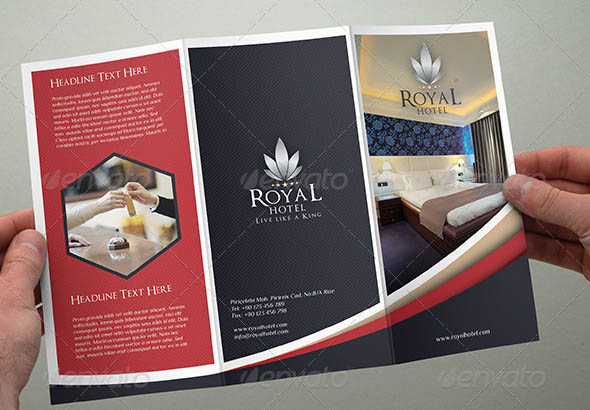 Hotel Trifold Brochure 01