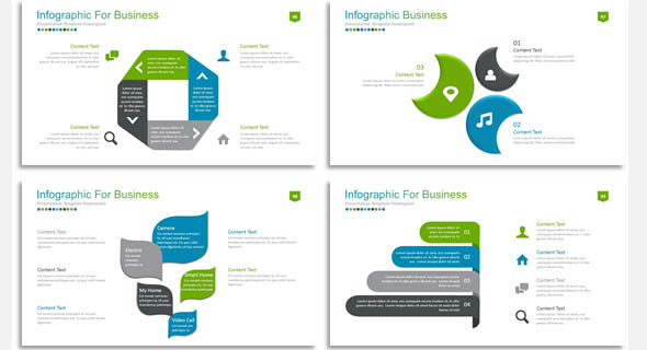 12 nice powerpoint templates for annual report � desiznworld