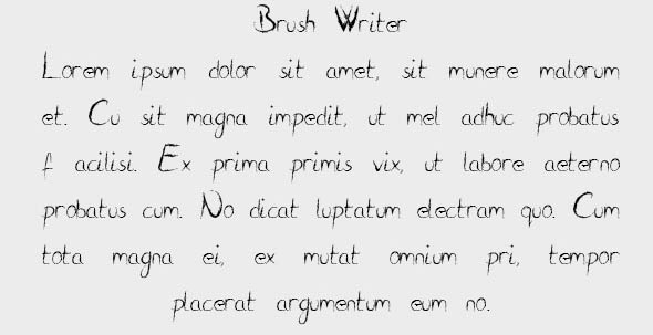 Brush Writer