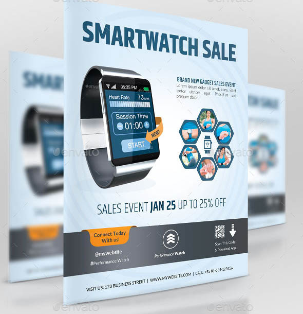 Business Promotion Smartwatch Sale