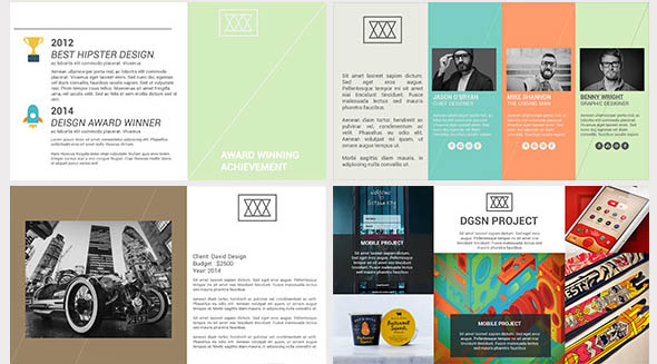 38 cool portfolio powerpoint templates  u2013 desiznworld