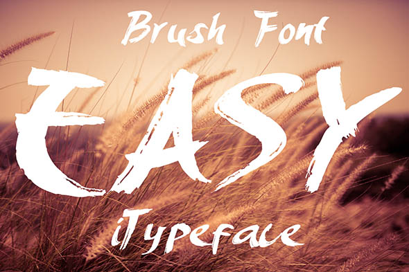 Easy Brush Font