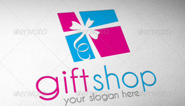 21 cool gift logo vector templates  u2013 desiznworld