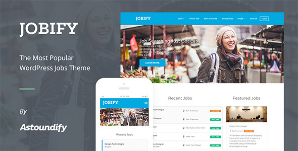 Jobify WordPress Job Board Theme