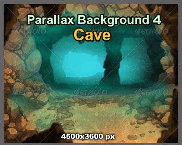 Parallax Background 4 Cave