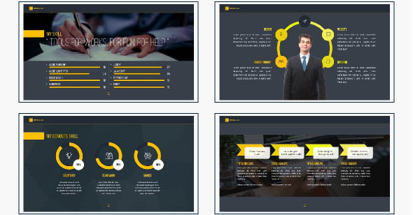 18 Cool Portfolio Powerpoint Templates Desiznworld