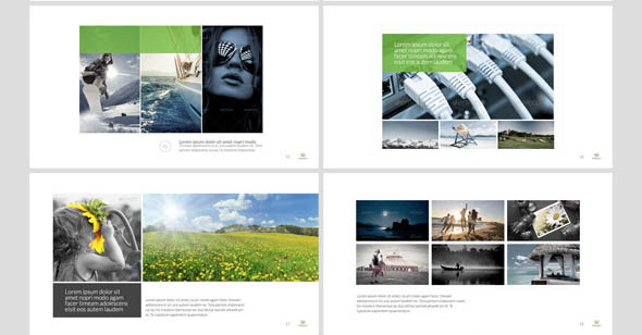 Portolia Multipurpose Clean Portfolio Powerpoint