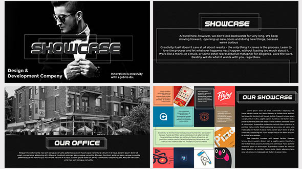 Showcase Multipurpose Portfolio Template