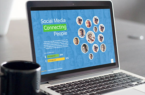 Social Media PRO Powerpoint Template