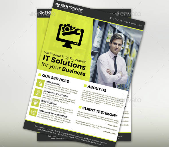 Tech Flyer Template
