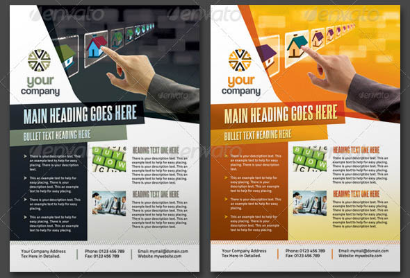 Tech Multipurpose Business Flyers