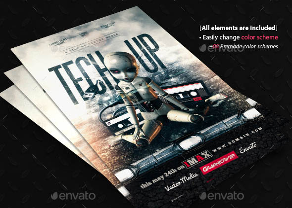 Tech Up Movie Poster