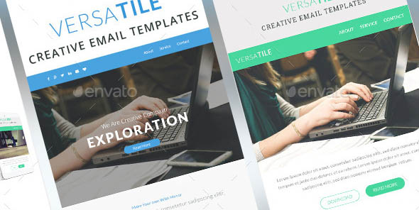 Versatile Email Newsletter Template