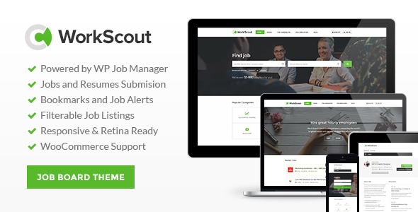 WorkScout Job Board WordPress Theme