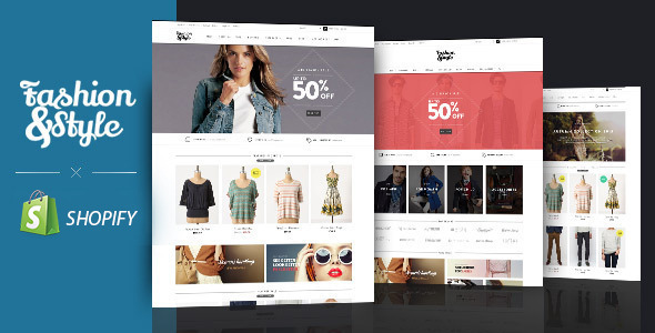 AP Fashion Store Responsive Shopify Template