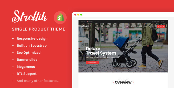 Ap Strollik Single Product Shopify Theme