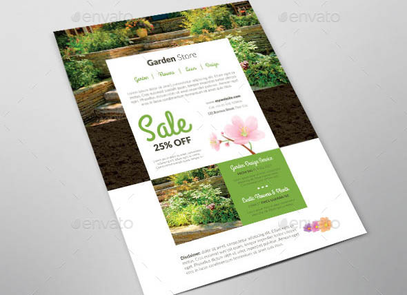 Business Promotion Garden Store
