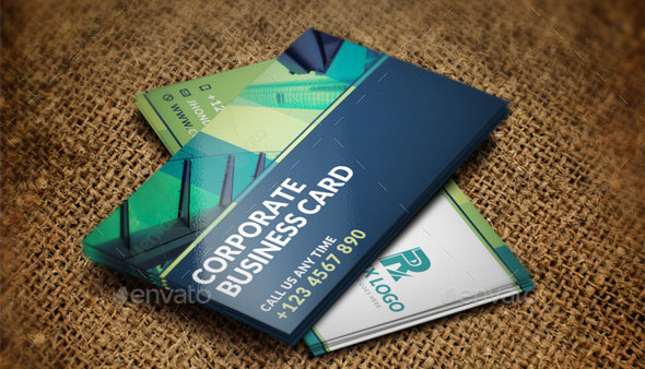 Corporate Business Card Template 10
