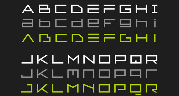 38 Cool Futuristic Fonts Desiznworld