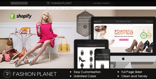 Fashion Planet Shopify Theme
