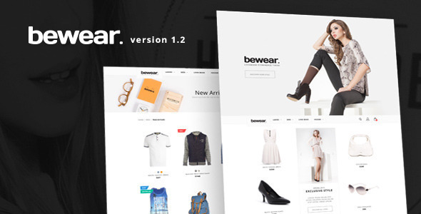 Fashion Responsive Shopify Theme Bewear