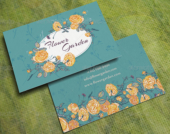 Flower Garden Business Card